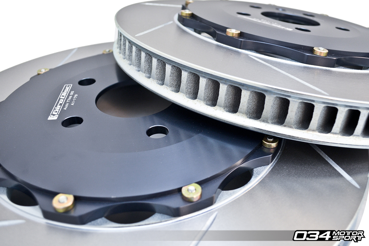 GiroDisc Floating, 2-Piece High-Performance Brake Rotor for Audi Applications