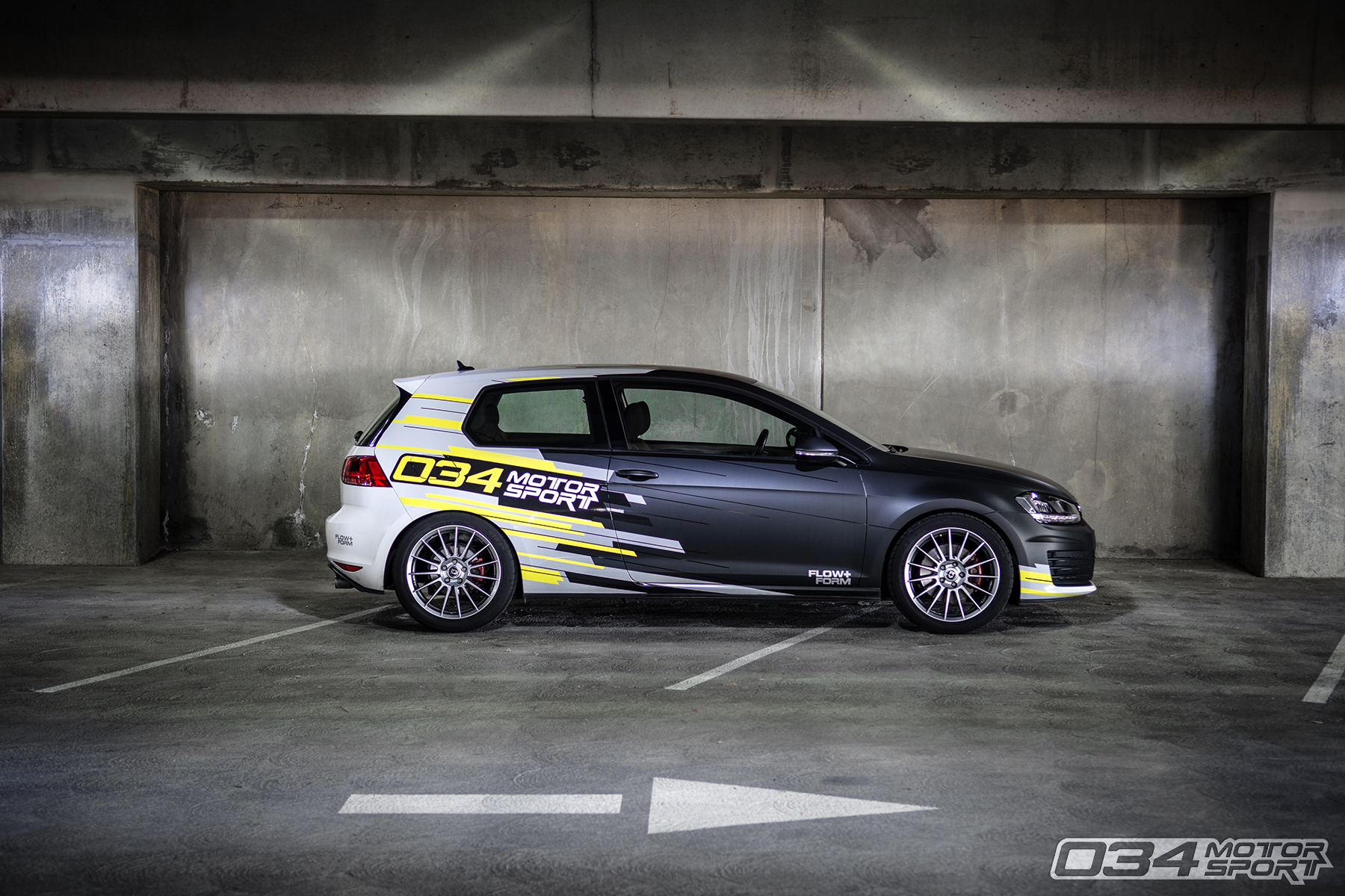 Mk7 Volkswagen GTI Lowered on Dynamic+ Lowering Springs