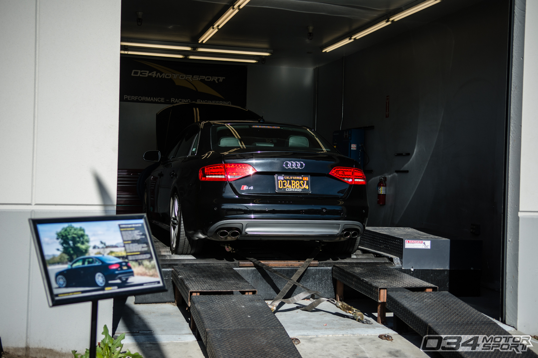 B8 Audi S4 Development Vehicle on Dyno at 034Motorsport WinterFest 2018 Open House