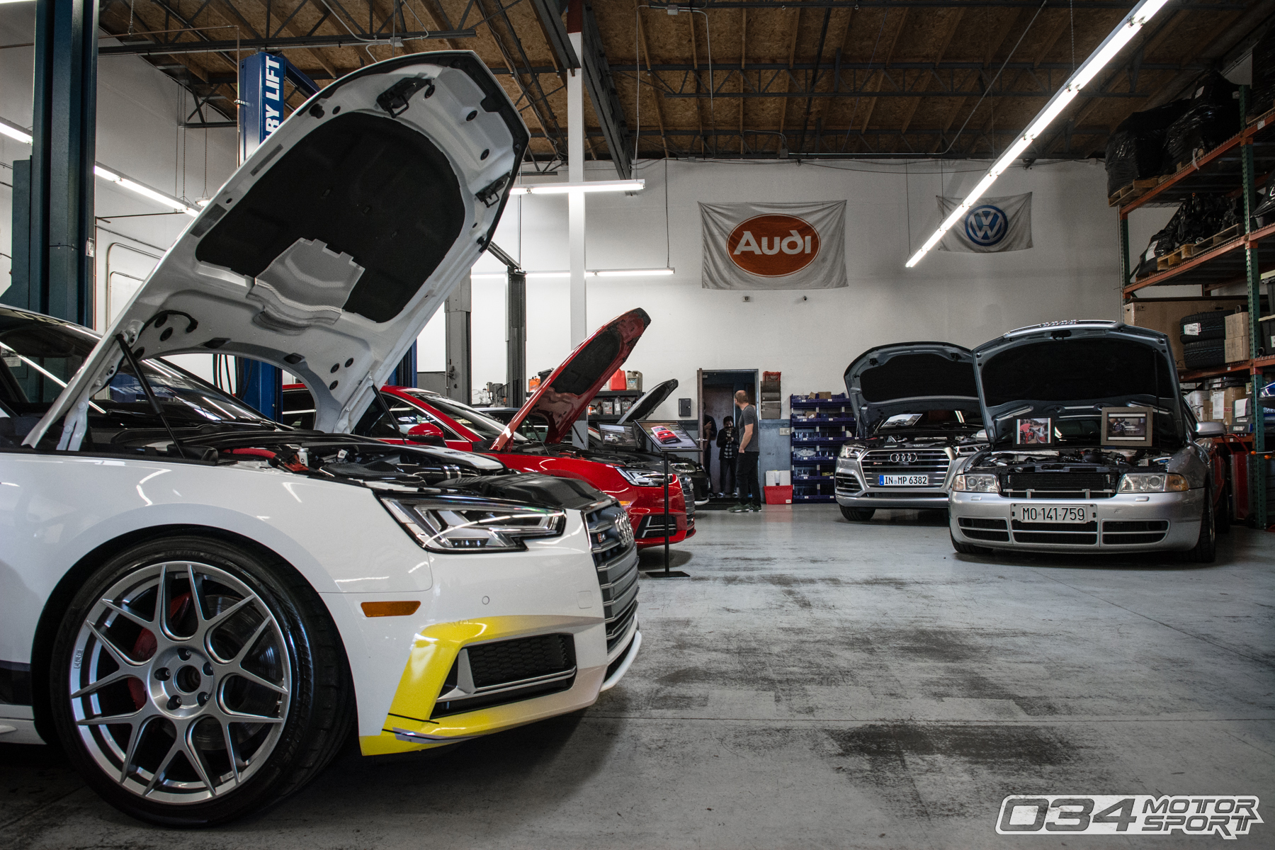034Motorsport WinterFest 2018 Open House