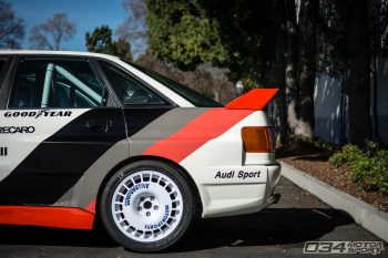 1991 Audi 90 20V Turbo at 034Motorsport WinterFest 2018 Car Show