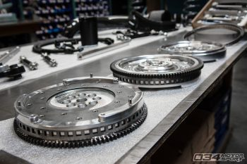 Billet Aluminum Lightweight Flywheels at WinterFest 2018