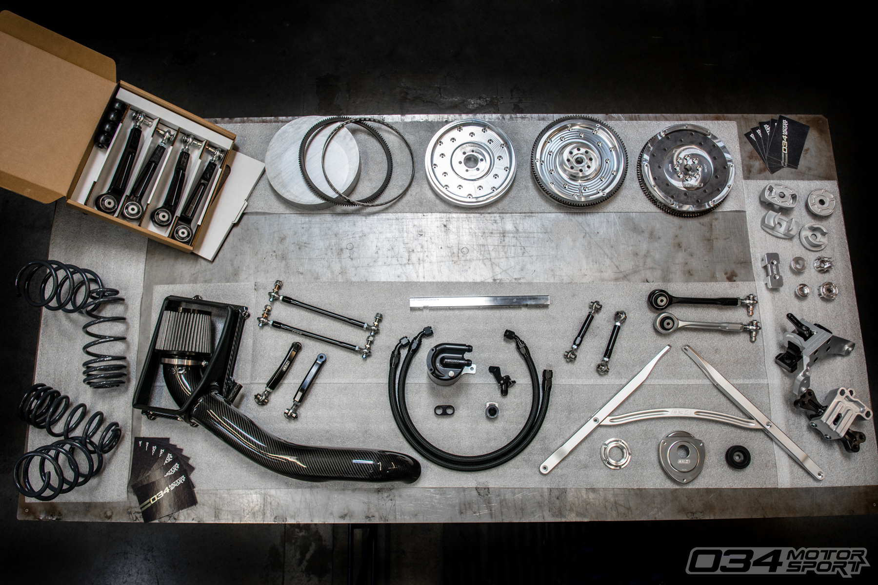 034Motorsport Audi and Volkswagen Performance Upgrades