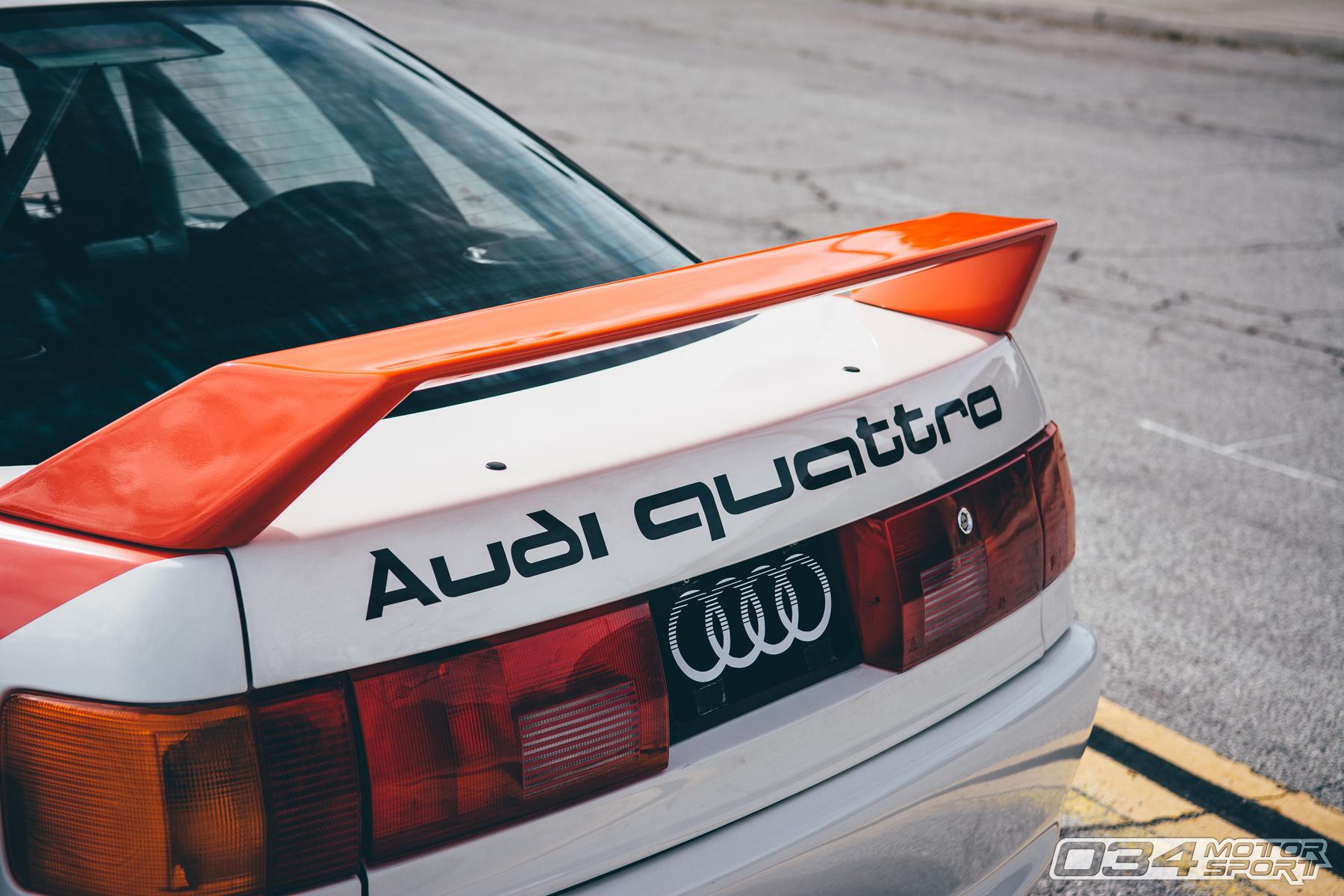Turbo Audi 90 Quattro 20V IMSA GTO Tirbute