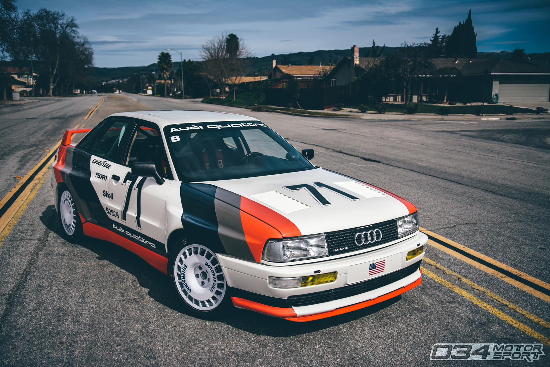 Widebody 1991 Audi 90 20V Quattro Turbo