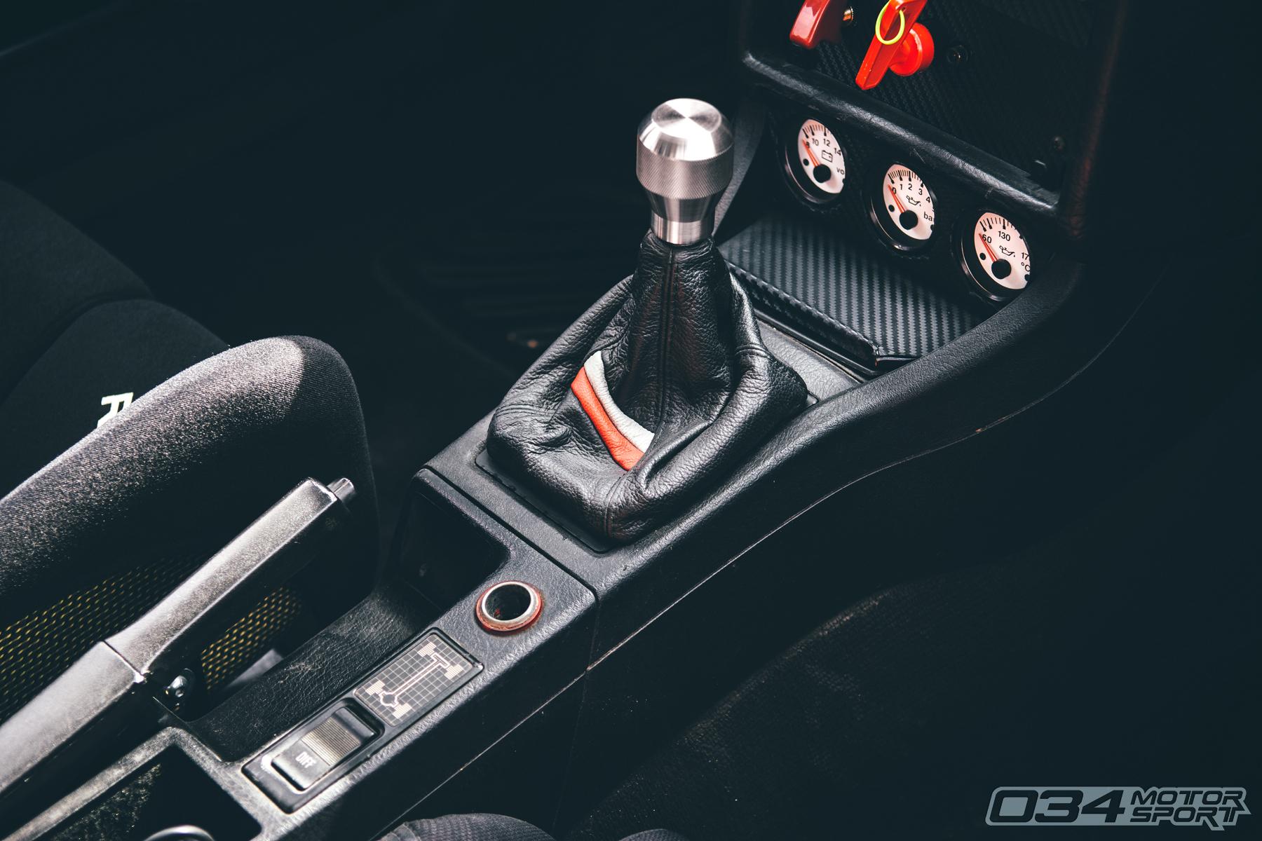 1991 Audi 90 Quattro 20V Racecar Interior