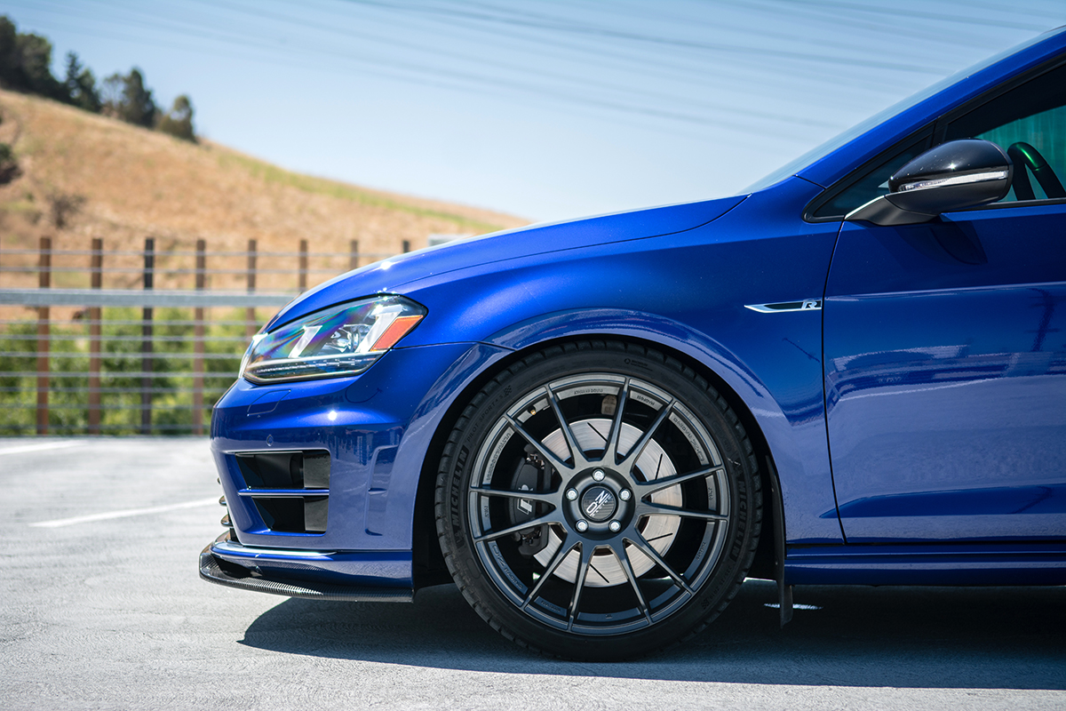 MkVII Volkswagen Golf R Dynamic+ Lowering Springs, Front Ride Height