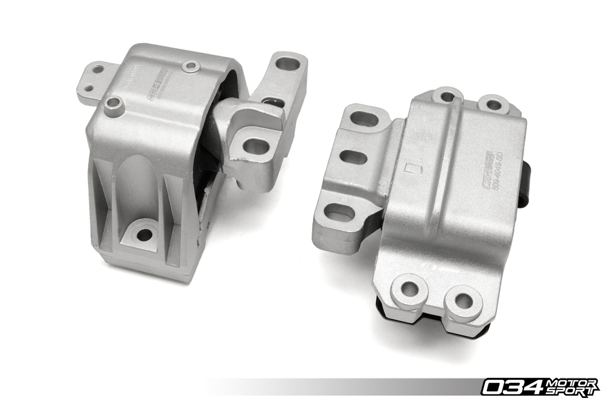 Street Density Motor Mount Pair for MkVI Volkswagen Jetta 1.8T Gen 3 with 5-Speed Manual Transmission
