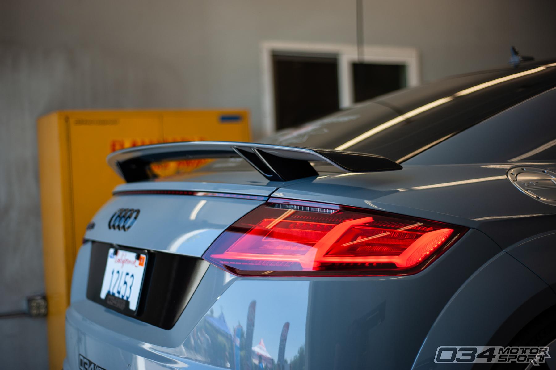 Stage 1 MkIII Audi TTRS Dyno Pull