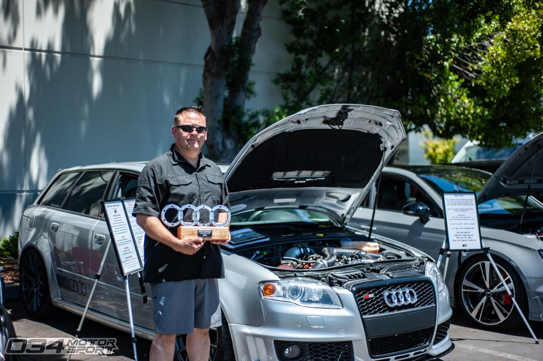 Rob Aguilar's B6.5 Audi S4 Avant Widebody w/ 2.7T Swap