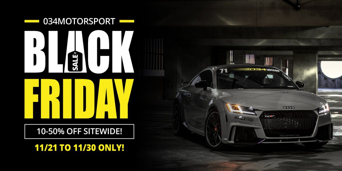 Black Friday 2018 at 034Motorsport
