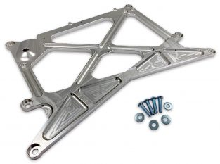 Now Available: X-Brace RHD Billet Aluminum Chassis Reinforcement