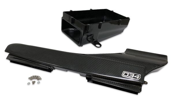 X34 Carbon Fiber Fresh Air Duct and Lower Airbox