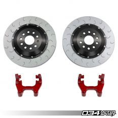 Available Now: 2-Piece Floating Rear Brake Rotor 350mm Upgrade for MQB VW & Audi