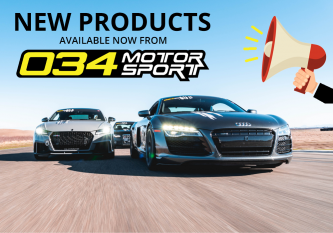 New Products Available Now from 034Motorsport!